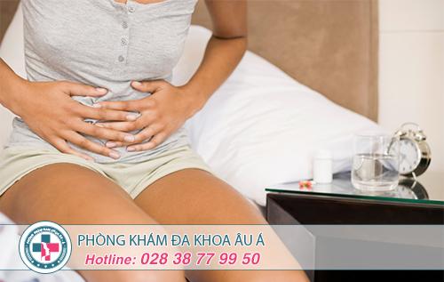 Vì sao bị đau bụng dưới sau khi quan hệ ở nữ?