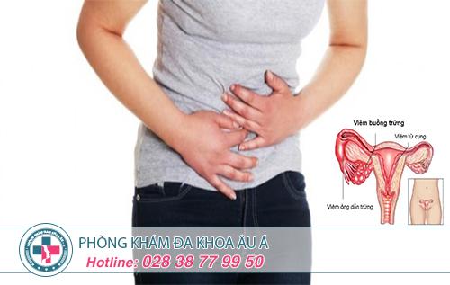 Những biểu hiện, triệu chứng của viêm ống dẫn trứng