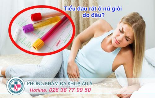 Tiểu đau rát ở nữ giới và những mối đe dọa nguy hiểm sức khỏe
